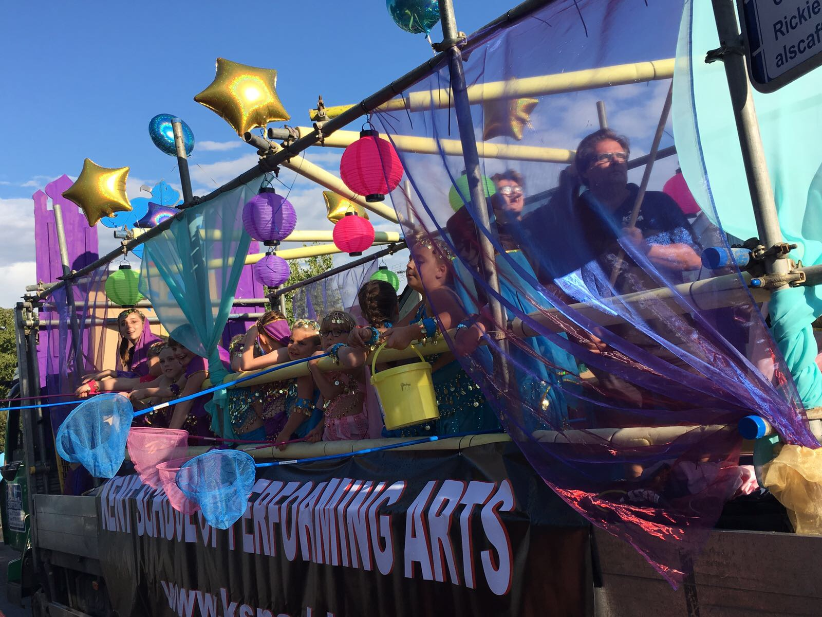 Summer School Kent School of Performing Arts Float